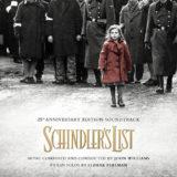 Маленькая обложка диска c музыкой из фильма «Список Шиндлера»