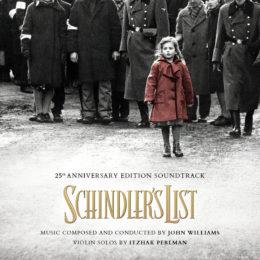 Обложка к диску с музыкой из фильма «Список Шиндлера»
