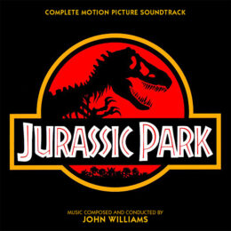 Обложка к диску с музыкой из фильма «Парк юрского периода (Complete Edition)»
