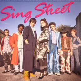 Обложка к диску с музыкой из фильма «Синг Стрит»