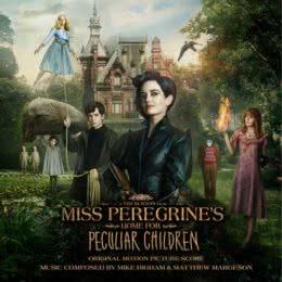 Обложка к диску с музыкой из фильма «Дом странных детей Мисс Перегрин»