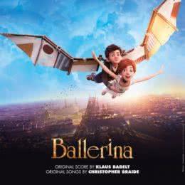 Обложка к диску с музыкой из мультфильма «Балерина»