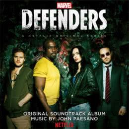 Обложка к диску с музыкой из сериала «Защитники (1 сезон)»