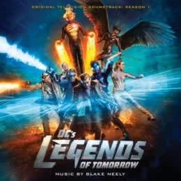 Обложка к диску с музыкой из сериала «Легенды завтрашнего дня (1 сезон)»
