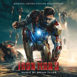 Обложка к диску с музыкой из фильма «Железный человек 3»