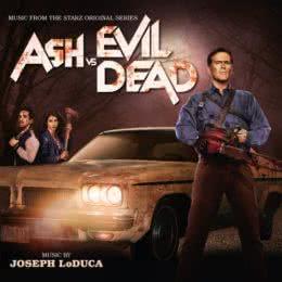 Обложка к диску с музыкой из сериала «Эш против Зловещих мертвецов (1 сезон)»