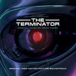 Обложка к диску с музыкой из фильма «Терминатор»