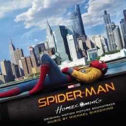Обложка к диску с музыкой из фильма «Человек-паук: Возвращение домой»