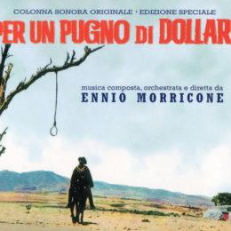 Обложка к диску с музыкой из фильма «За пригоршню долларов»