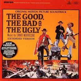 Обложка к диску с музыкой из фильма «Хороший, плохой, злой»