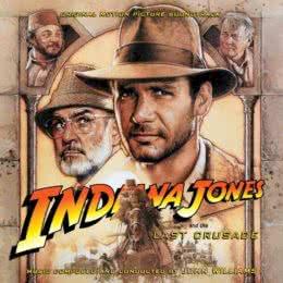 Обложка к диску с музыкой из фильма «Индиана Джонс и последний крестовый поход»
