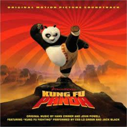 Обложка к диску с музыкой из мультфильма «Кунг Фу Панда»