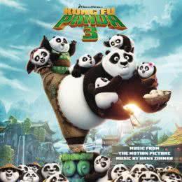 Обложка к диску с музыкой из мультфильма «Кунг Фу Панда 3»