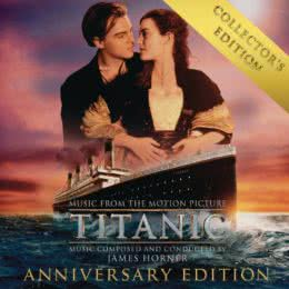 Обложка к диску с музыкой из фильма «Титаник (Collector's Edition)»