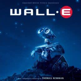 Обложка к диску с музыкой из мультфильма «ВАЛЛ-И»