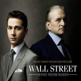 Обложка к диску с музыкой из фильма «Уолл Стрит: Деньги не спят»