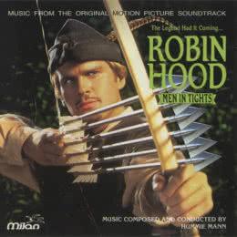 Обложка к диску с музыкой из фильма «Робин Гуд: Мужчины в трико»