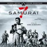 Маленькая обложка диска с музыкой из фильма «Семь самураев»