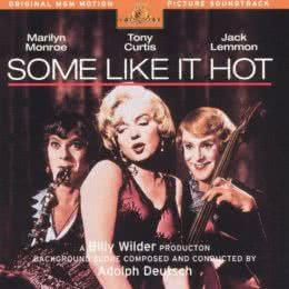 Обложка к диску с музыкой из фильма «В джазе только девушки»