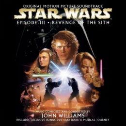Обложка к диску с музыкой из фильма «Звёздные войны. Эпизод III: Месть ситхов»