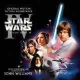 Маленькая обложка диска с музыкой из фильма «Звездные войны. Эпизод IV: Новая надежда»
