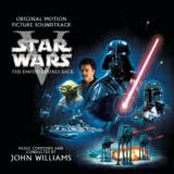 Маленькая обложка диска c музыкой из фильма «Звёздные войны. Эпизод V: Империя наносит ответный удар»