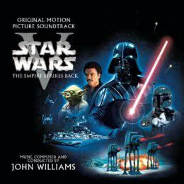 Обложка к диску с музыкой из фильма «Звездные войны. Эпизод V: Империя наносит ответный удар»
