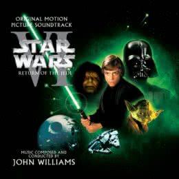 Обложка к диску с музыкой из фильма «Звездные войны. Эпизод VI: Возвращение джедая»