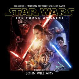 Обложка к диску с музыкой из фильма «Звездные войны: Пробуждение Силы»