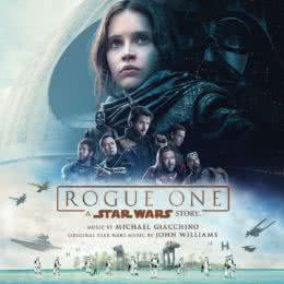 Обложка к диску с музыкой из фильма «Изгой-один. Звездные войны: Истории»