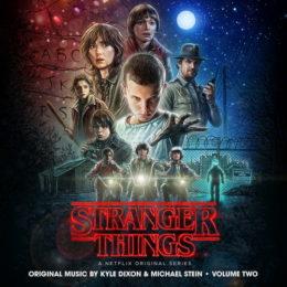 Обложка к диску с музыкой из сериала «Очень странные дела (1 сезон, volume 2)»