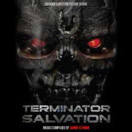 Обложка к диску с музыкой из фильма «Терминатор: Да придет спаситель»