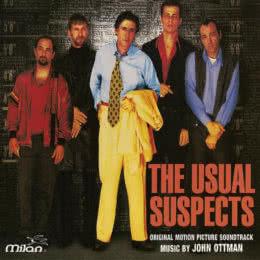 Обложка к диску с музыкой из фильма «Подозрительные лица»