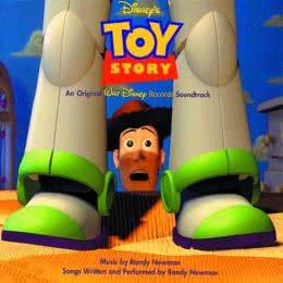 Обложка к диску с музыкой из мультфильма «История игрушек»