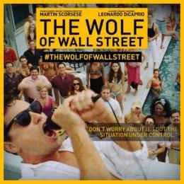 Обложка к диску с музыкой из фильма «Волк с Уолл-стрит»