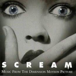 Обложка к диску с музыкой из фильма «Крик»