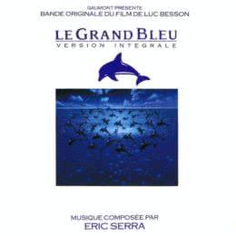 Обложка к диску с музыкой из фильма «Голубая бездна»