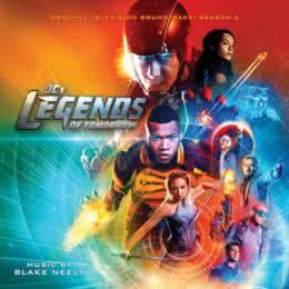 Обложка к диску с музыкой из сериала «Легенды завтрашнего дня (2 сезон)»
