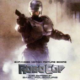 Обложка к диску с музыкой из фильма «Робокоп»