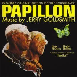 Обложка к диску с музыкой из фильма «Мотылек»