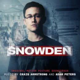 Обложка к диску с музыкой из фильма «Сноуден»