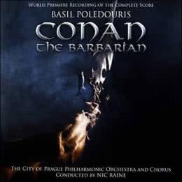 Обложка к диску с музыкой из фильма «Конан-варвар»