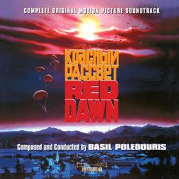 Обложка к диску с музыкой из фильма «Красный рассвет»