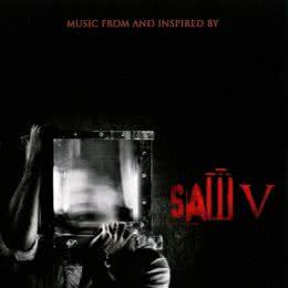 Обложка к диску с музыкой из фильма «Пила 5»