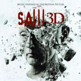 Обложка к диску с музыкой из фильма «Пила 3D»