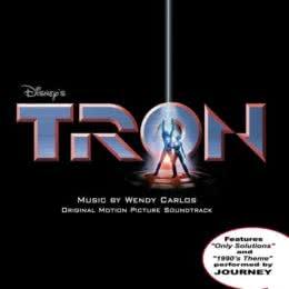Обложка к диску с музыкой из фильма «Трон»