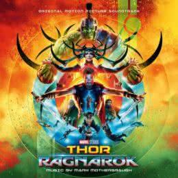 Обложка к диску с музыкой из фильма «Тор: Рагнарёк»