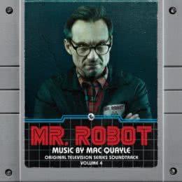 Обложка к диску с музыкой из сериала «Мистер Робот (Volume 4)»