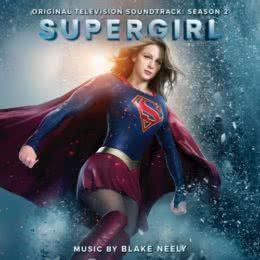 Обложка к диску с музыкой из сериала «Супергерл (2 сезон)»