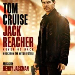 Обложка к диску с музыкой из фильма «Джек Ричер 2: Никогда не возвращайся»